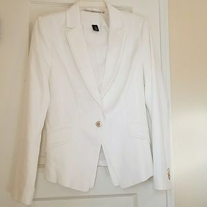 White Blazer Perfect! White House Black Market
